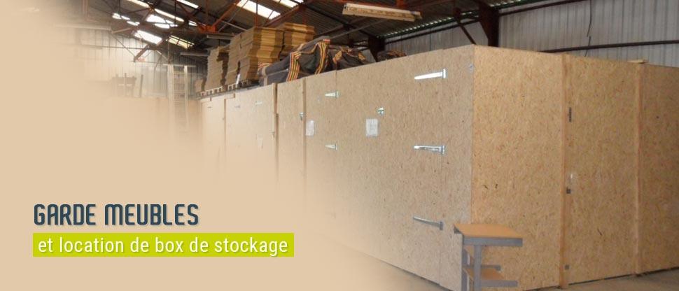 Garde meubles : box de stockage à Lorient